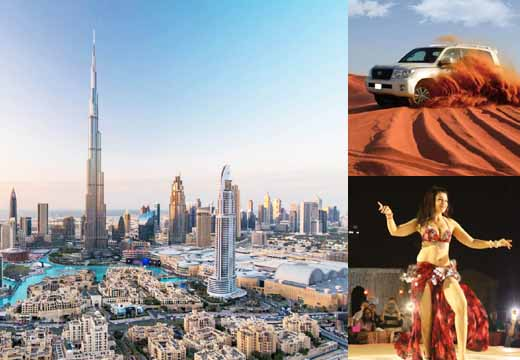 dubai city tour with desert safari, dubai desert safari with bbq dinner, dubai safari deals