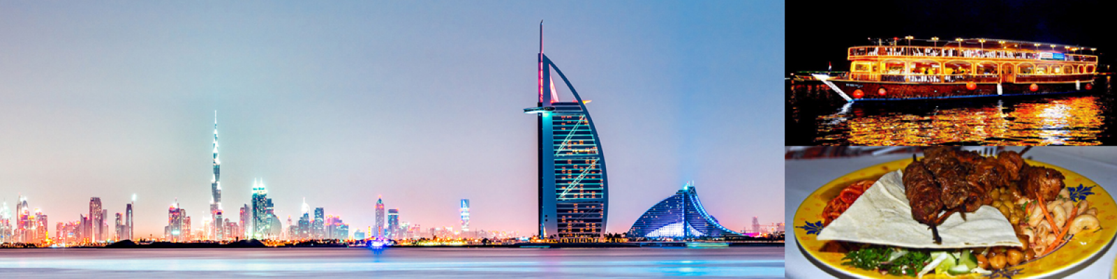 dubai city tour with dhow cruise dinner, dhow cruise dinner, combo deal