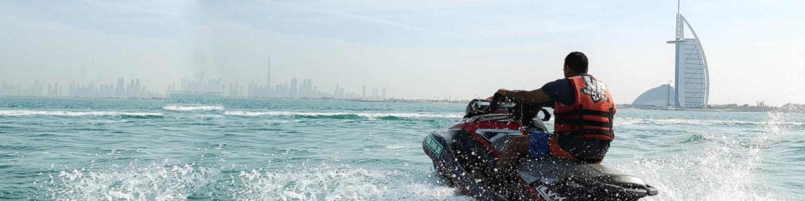 jet ski near burj al arab, jet ski burj al arab, jet ski burj al arab tour