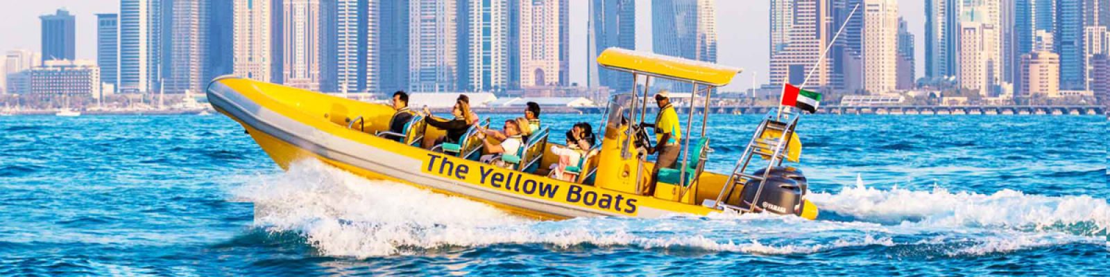 yellow boat tour dubai, yellow boat tour dubai marina, yellow boat ride dubai
